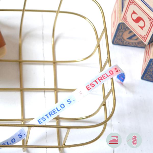 Modèle ECO d'étiquettes personnalisables pour la rentrée des classes à coudre ou à thermocoller