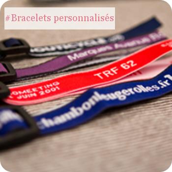 Bracelets personnalisés évenements, soirées, concerts