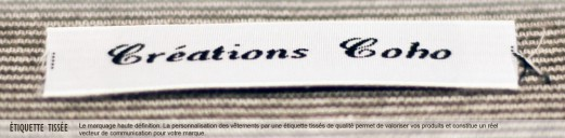 Griffes tissées personnalisées (F)